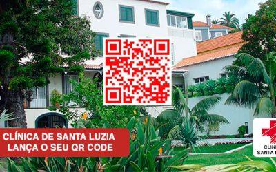 Clínica de Santa Luzia Lança o seu QR Code