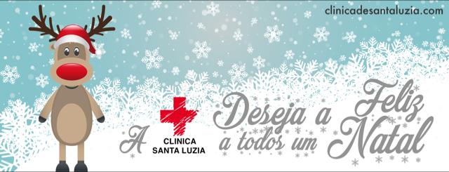 A Clínica Santa Luzia Deseja-lhe um Feliz Natal!