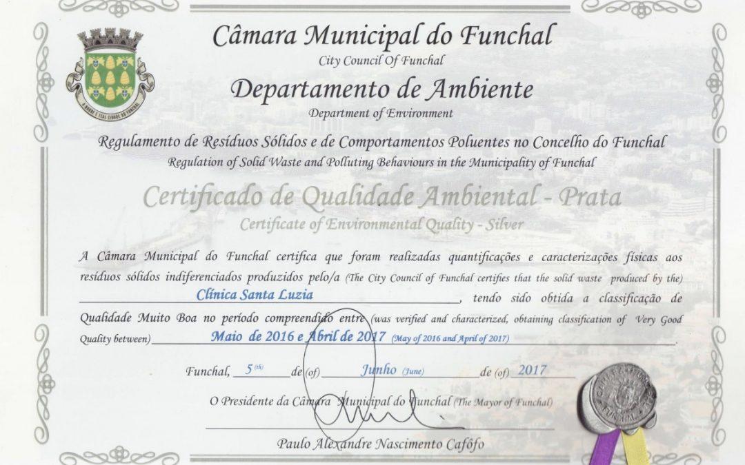 Clínica Santa Luzia cuida do Ambiente tal como cuida dos seus pacientes!