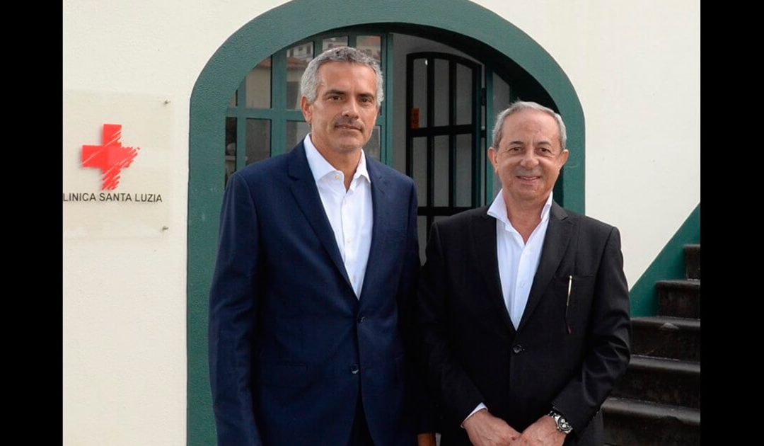 Ângelo Rebelo Celebra parceria com Clínica de Santa Luzia